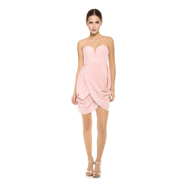 ZIMMERMANN draped dress - NOTE: Zimmermann uses special sizing. A structured bodice...