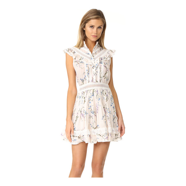 ZIMMERMANN paradiso lilac flutter dress - NOTE: Zimmermann uses special sizing. A mix of pretty...