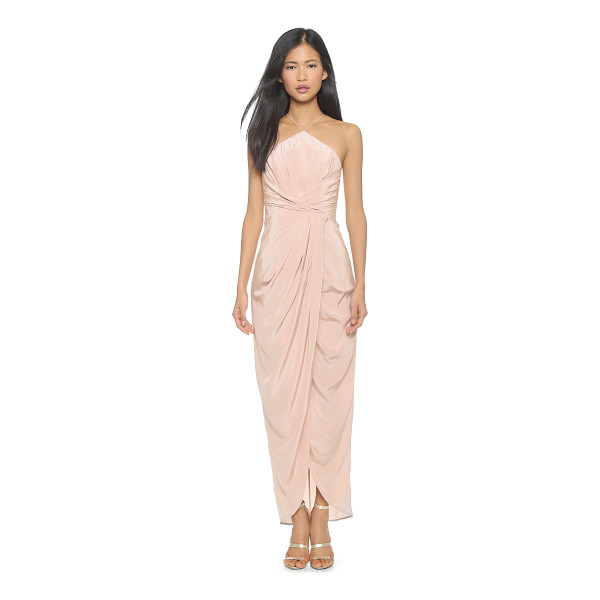 ZIMMERMANN Silk tuck long dress - Allover pleating lends appealing texture to this Zimmermann...