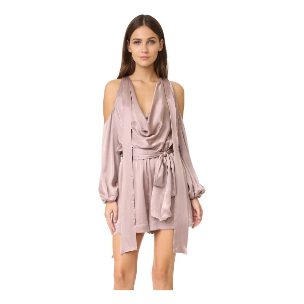 ZIMMERMANN sueded billow playsuit - Description NOTE: Zimmermann uses special sizing. Please...