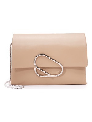 3.1 Phillip Lim alix soft flap cross body clutch