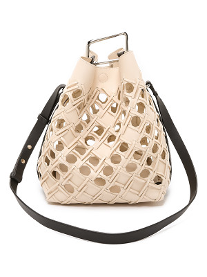 3.1 Phillip Lim Quill perforated bucket bag