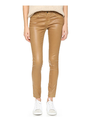 AG Adriano Goldschmied The leatherette legging ankle jeans