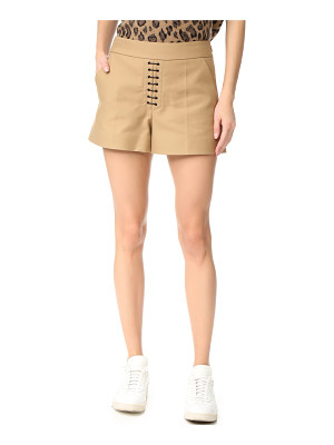 Alexander Wang safari shorts with lacing