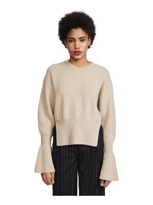 Alexander Wang engineered pullover with side slits