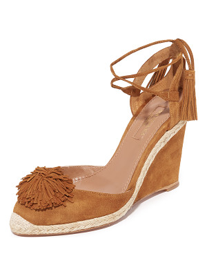 Aquazzura sunshine wedge espadrilles
