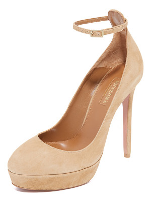 Aquazzura taylor plateau pumps