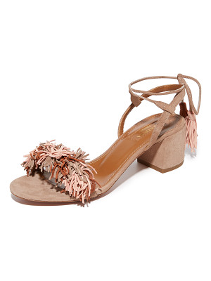 Aquazzura wild thing city sandals