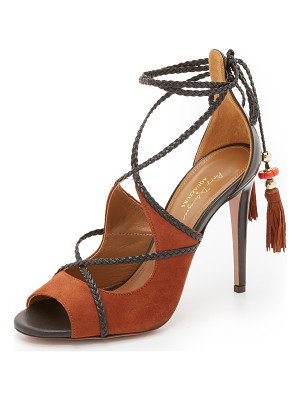 AQUAZZURA X Poppy Delevingne Hero Sandals