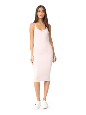 ATM ANTHONY THOMAS MELILLO Modal Rib Scooped V Dress