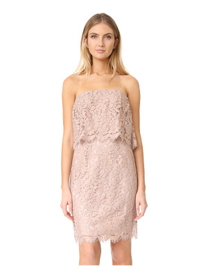 BB Dakota sakura strapless lace dress