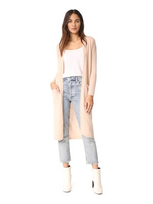 Bop Basics cashmere duster sweater coat
