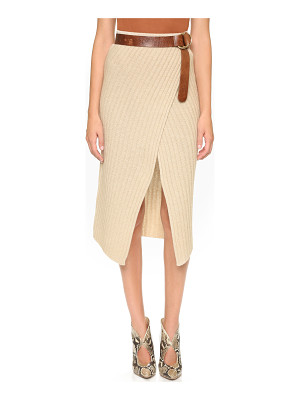 Brochu Walker loma ribbed knit skirt