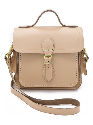 Cambridge Satchel Small traveller bag with side pockets