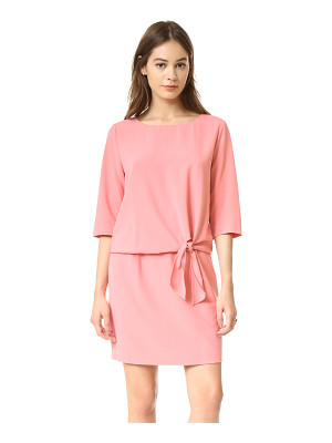 CUPCAKES AND CASHMERE Mini Dress With Tie Detail