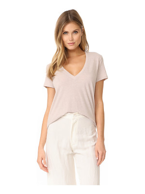 David Lerner deep v neck top
