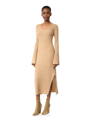 Derek Lam ribbed cashmere sweater dress