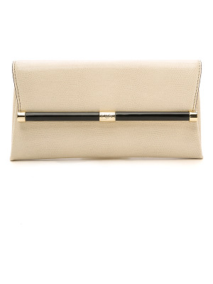 DIANE VON FURSTENBERG Diane Von Furstenberg 440 Envelope Clutch With Lizard Embossing