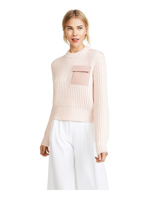 Dion Lee long sleeve pocket sweater