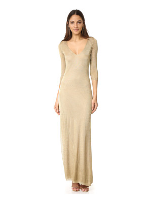 DSQUARED2 Long Sleeve Maxi Dress
