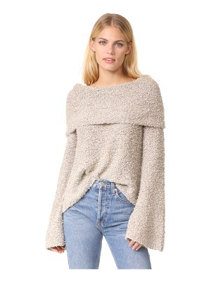 Elizabeth and James sophie slouchy neck pullover