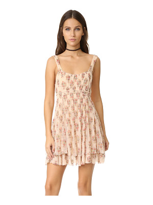 Free People heart it races mini dress