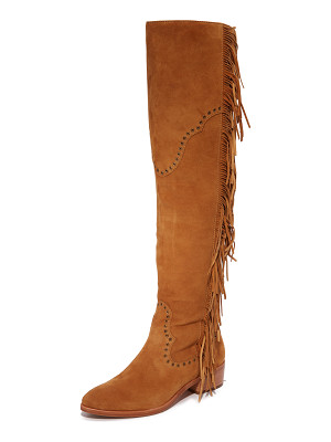 FRYE Ray Fringe Over The Knee Boots