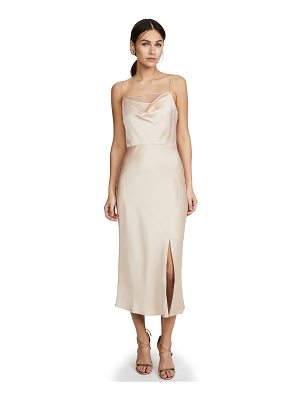 Jason Wu satin cocktail dress