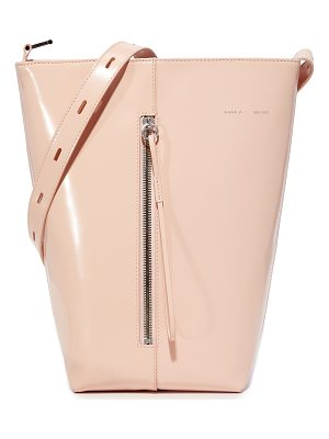 KARA Polished Panel Bucket Bag
