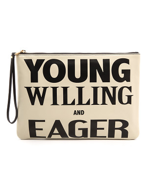 KAREN WALKER Young Willing & Eager Clutch