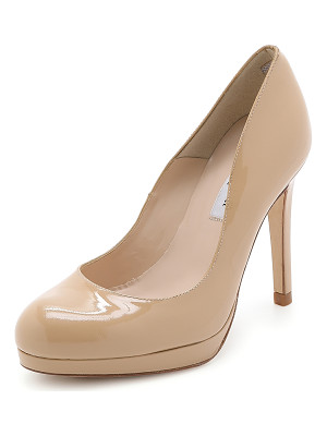 L.K. BENNETT Sledge Patent Pumps