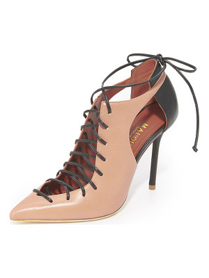 MALONE SOULIERS Montana Lace Up Pumps