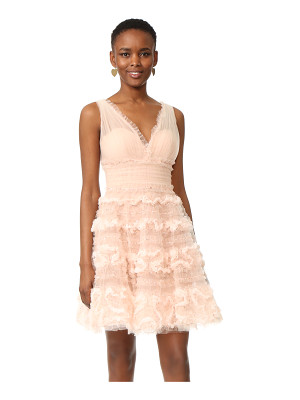 Marchesa Notte tulle cocktail dress