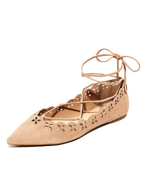MICHAEL Michael Kors thalia lace up flats