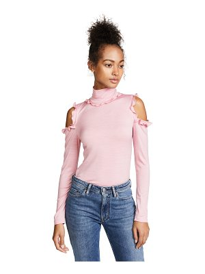Nicholas cold shoulder turtleneck