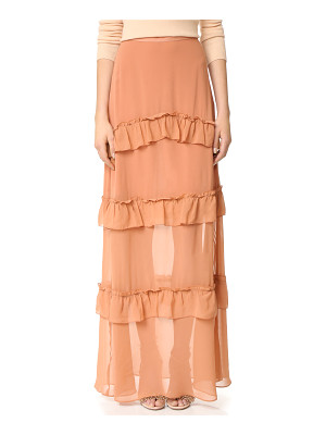 NICHOLAS Georgette Tiered Skirt