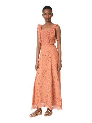 NIGHTCAP X CARISA RENE Aimee Eyelet Maxi Dress