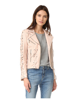 Nour Hammour roxy motorcycle jacket with studs