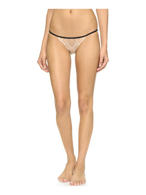 Only Hearts whisper sweet nothings lace back bikini briefs