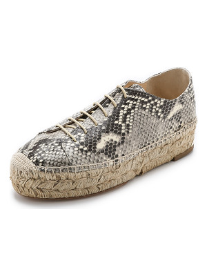 PALOMA BARCELO Platform Espadrille Sneakers