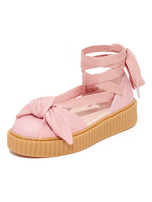 PUMA fenty x  bow creeper sandals