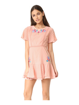 RahiCali tropics ruffle dress