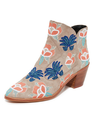 REBECCA MINKOFF Lulu Too Embroidered Booties