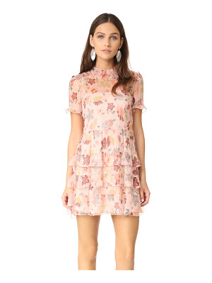 RED VALENTINO Collared Ruffle Dress