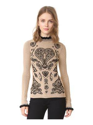 Red Valentino printed sweater