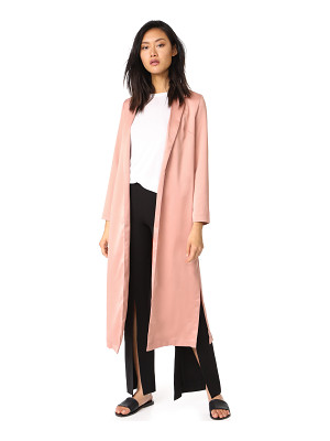 re:named re: named long trench coat