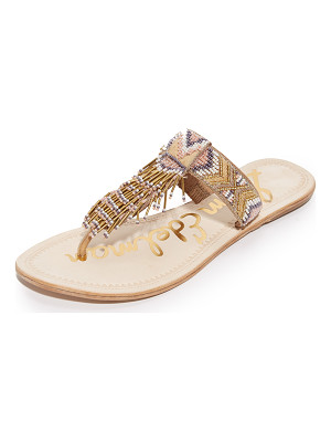 SAM EDELMAN Anella Beaded Sandals