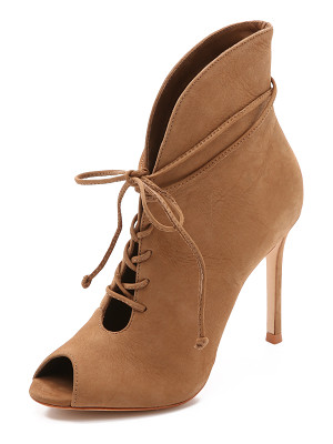 SCHUTZ Kafalin Open Toe Booties