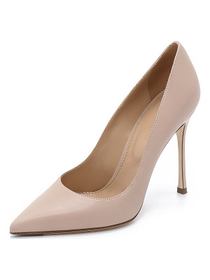 SERGIO ROSSI Leather Godiva Pumps