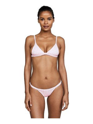 SKYE & STAGHORN Petite Triangle Bikini Top